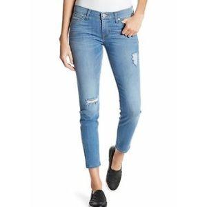 Hudson Crop Krista Super Skinny Jeans